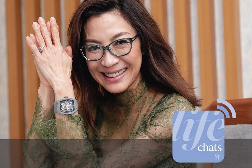 Actress Michelle Yeoh, star of Crazy Rich Asians, chats with entertainment correspondent Yip Wai Yee about the Crazy Rich Asians phenomenon in this podcast.