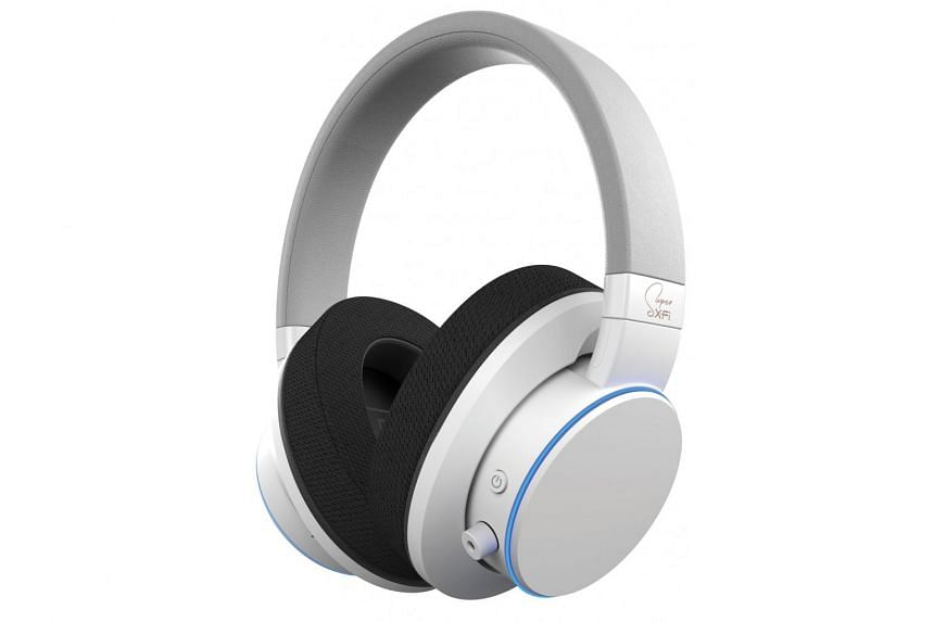 The Creative Super X-Fi Air is a pair of Bluetooth headphones with built-in Super X-Fi surround sound technology.