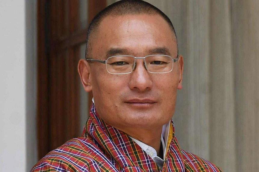 Bhutan's ruling party, led by PM Tshering Tobgay (above), lost in the polls. The most votes went to the party led by Dr Lotay Tshering.