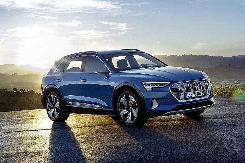While the Audi e-tron's suspension components are taken off the Volkswagen group's modular longitudinal platform, everything else in the chassis is unique.
