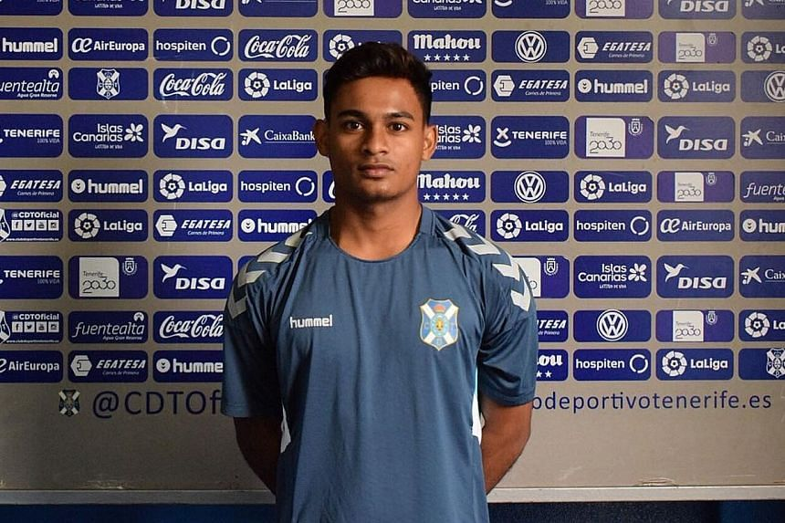 """Saifullah Akbar, according to Tenerife sporting director Juan Jose Rivero, has the """"potential to improve"""" but his agent Ashikin Hashim says """"if an offer does not help the player get to a level he should be at, then we will always look for better oppo"""