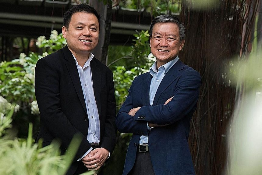 Lawyer Haryadi Hadi (left), 35, and chartered accountant Francis Chan, 56, are registered professional deputies. Professional deputies and donees must not be related to the person they are acting on behalf of, to avoid any conflict of interest.