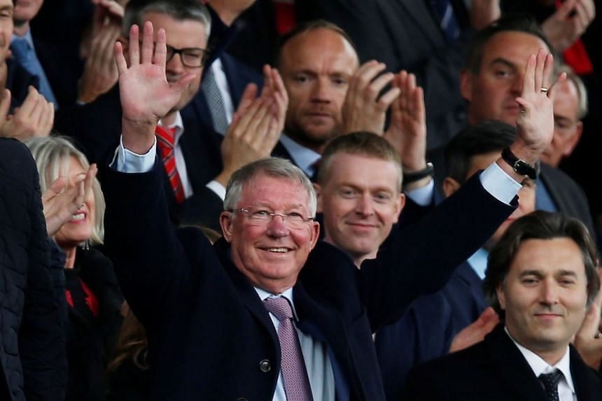 Sir Alex Ferguson in the stands before the Manchester United v Wolverhampton Wanderers match in Old Trafford, on Sept 22, 2018.