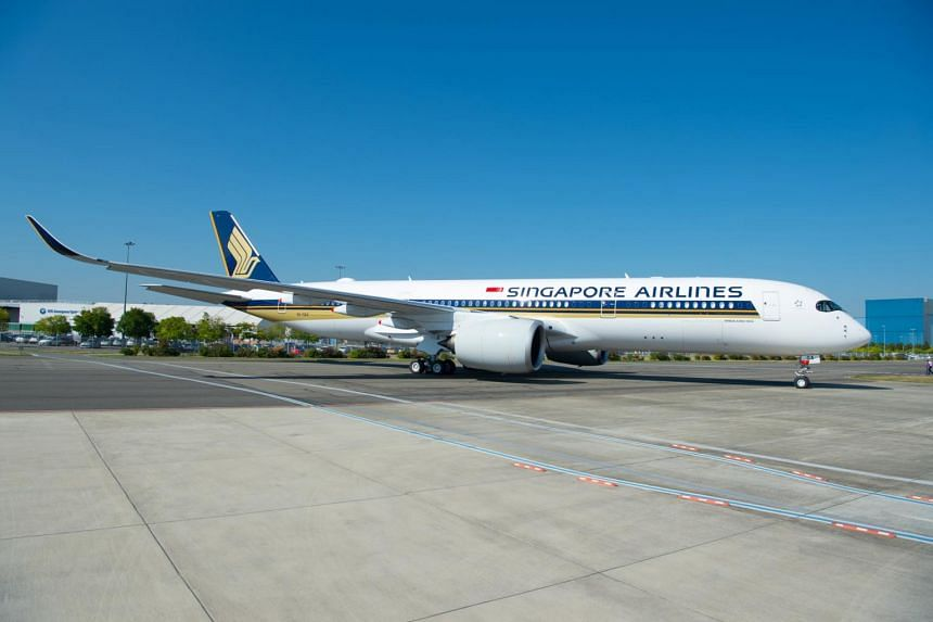 The Airbus A350-900ULR aircraft will start flying between Singapore and New York's Newark Liberty International Airport from Oct 11, 2018.