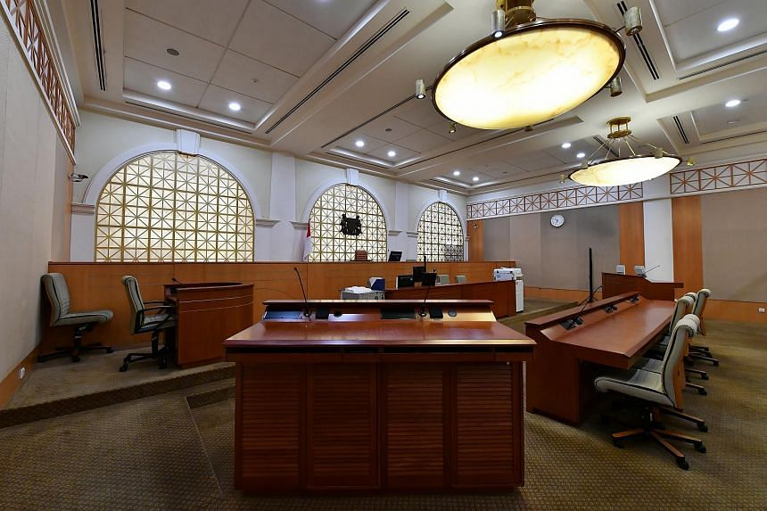 File photo showing the interior of the Family Court at 3, Havelock Square, on Dec 12, 2016.