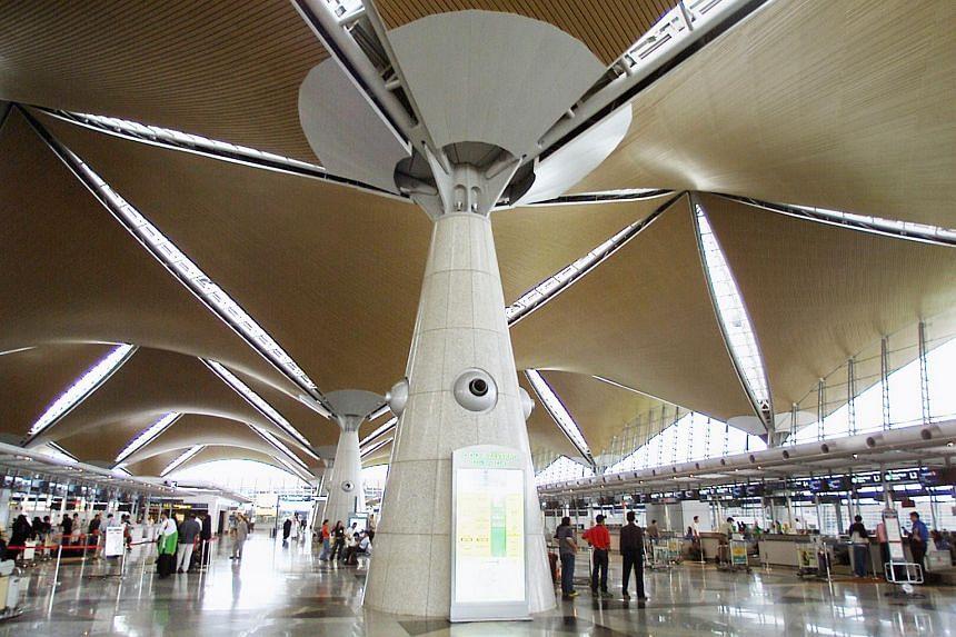File photo showing the interior of Kuala Lumpur International airport.