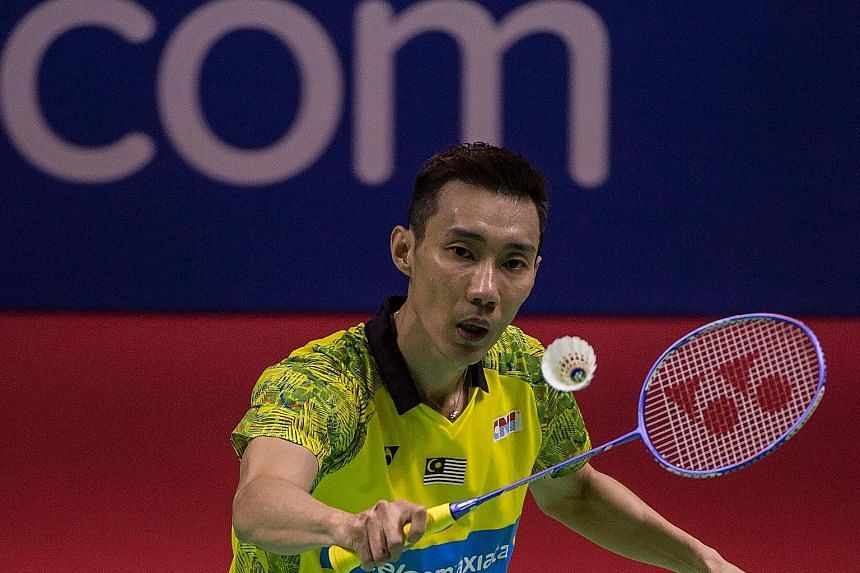 Malaysia's Lee Chong Wei, ranked fourth in the world, has won 69 international titles and is a three-time Olympic silver medallist.