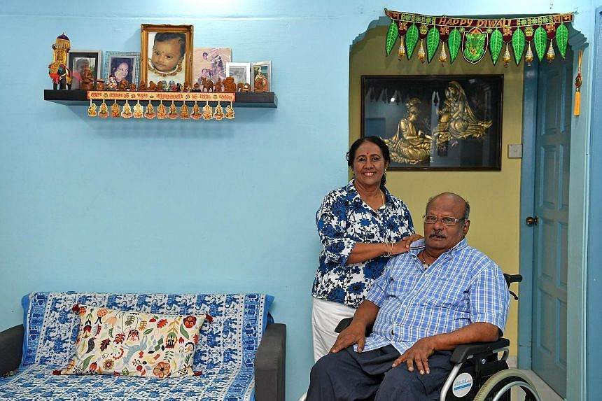 Mr R. Thangavelu, 81, and his wife, Madam Saraswathy V. Muthukumaru, 71, have been married for 52 years. They talk over their disagreements to solve their problems.