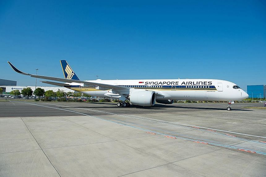 SIA has taken delivery of the world's first Airbus A350-900ULR, which will fly non-stop between here and New York from Oct 11.