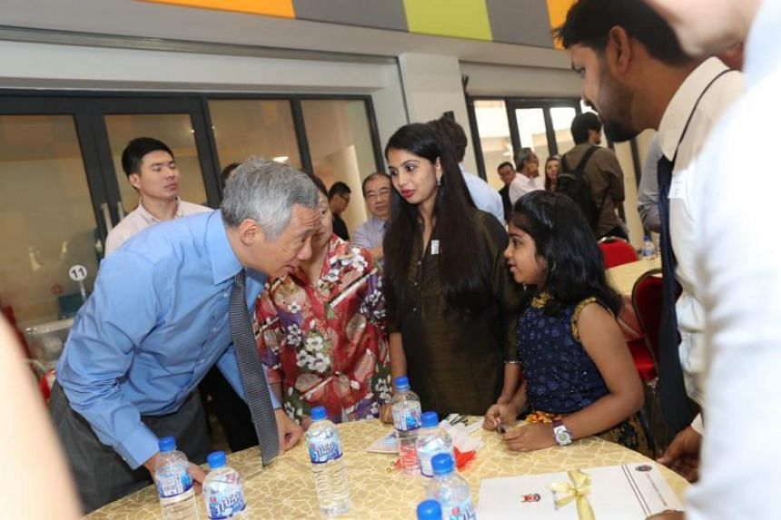 PM Lee then expressed his hope that Singapore will remain the home of the new citizens' children and grandchildren.