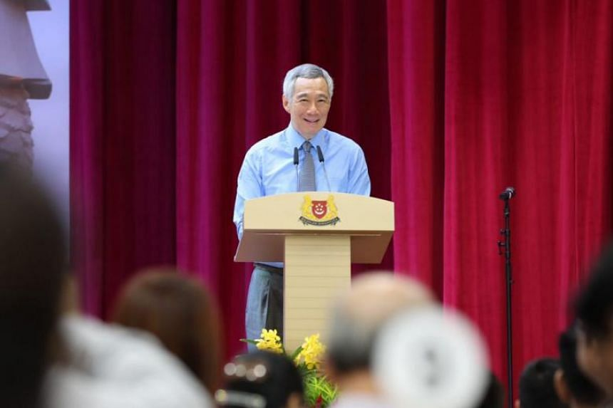 Highlighting that the Republic's history and success were built on the backs of immigrants from near and far, Prime Minister Lee Hsien Loong said new citizens' stories will add to Singapore's.