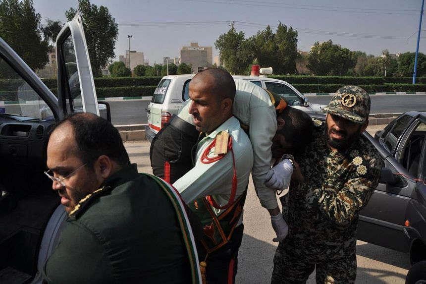 ISIS claimed responsibility for the rare assault in the south-western city of Ahvaz.