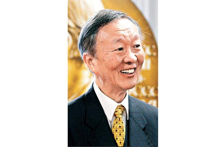 Professor Charles Kuen Kao was diagnosed with Alzheimer's disease in 2004.