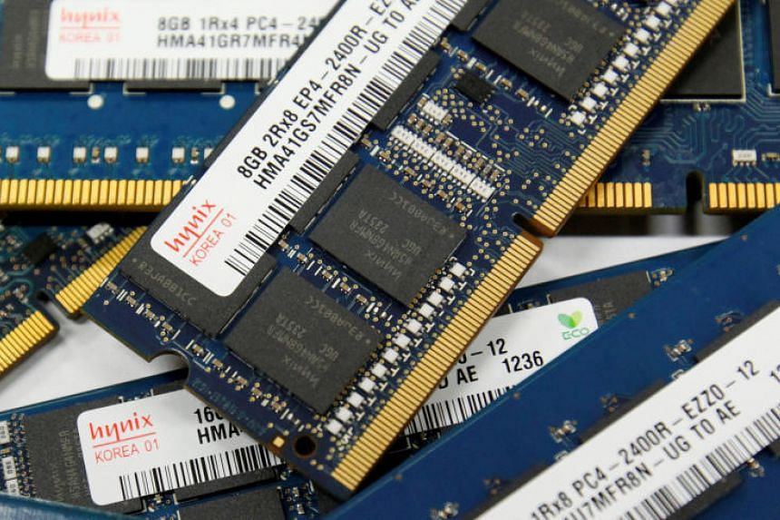 At SK Hynix, which makes computer memory chips, work is under way to move production of certain chip modules back to South Korea from China.