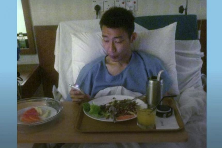 """""""Wait for me. I'll return to the court. Don't forget me yet, I'm still here,"""" badminton icon Lee Chong Wei said in a voice message from Taiwan, where he is seeking medical treatment."""