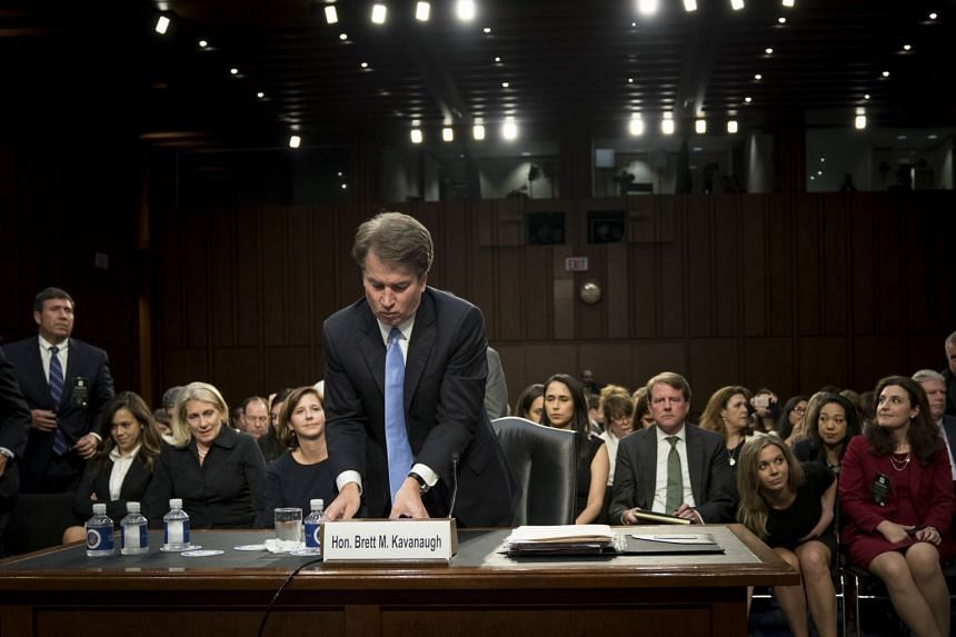 Brett Kavanaugh after his confirmation hearing before the Senate Judiciary Committee on Sept. 6, 2018.