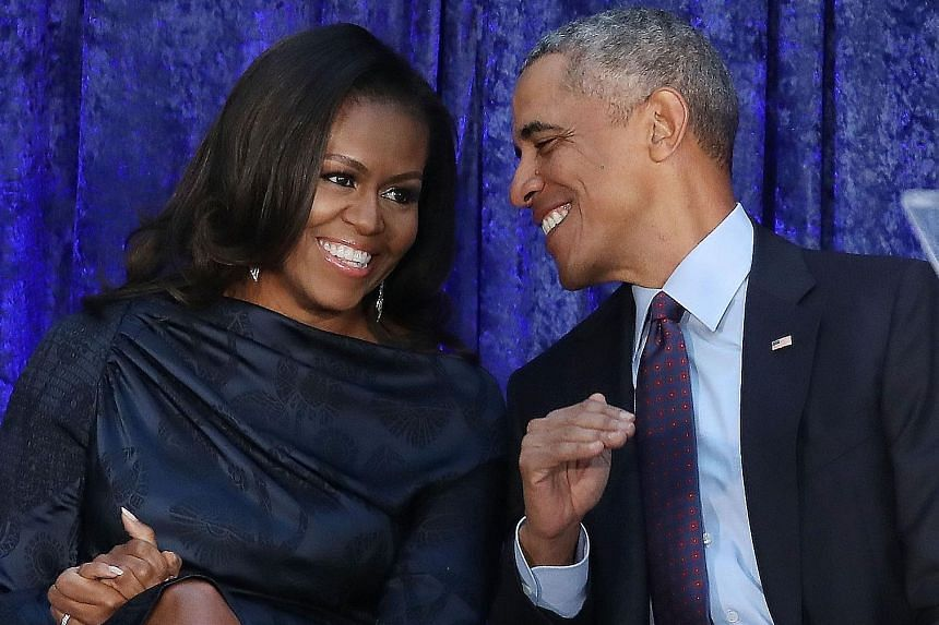 Mrs Michelle Obama (above, with her husband Barack Obama) kicks off her tour in her home town in Chicago at the United Centre, which can seat 23,500.