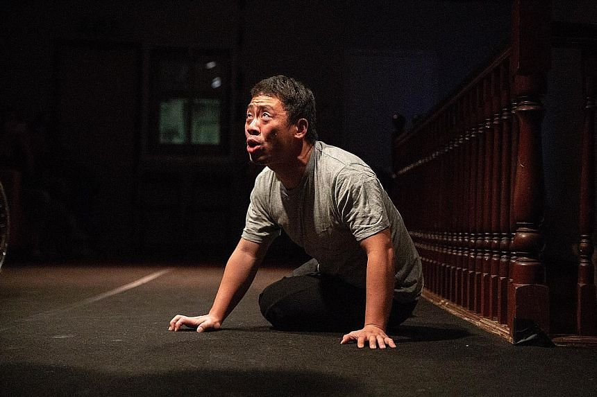 Stanley Ng plays murderer Wang Jia Hao in Oedipus.