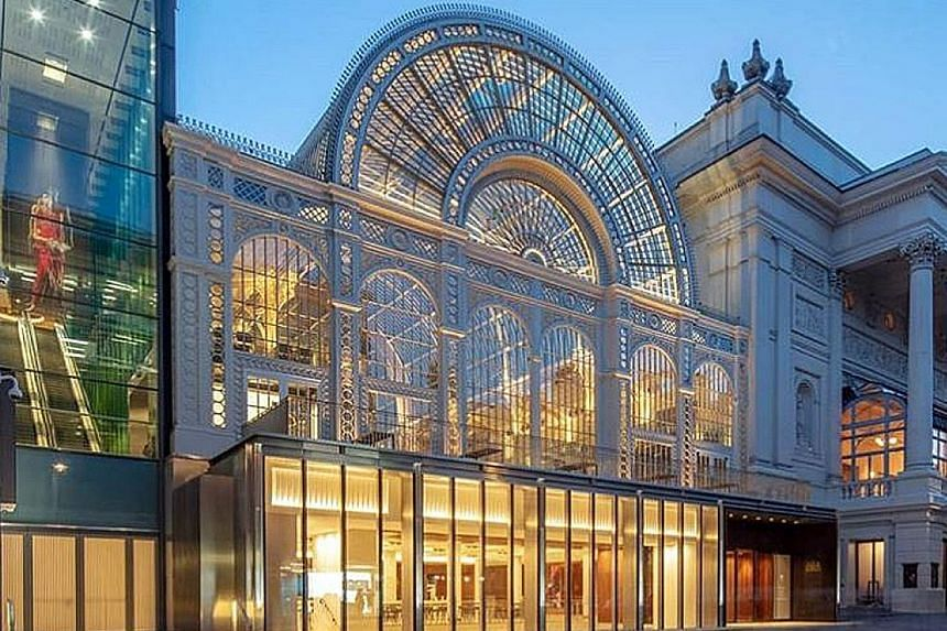 A larger foyer and a lobby fronted by windows and housing a cafe that will open daily from 10am are among the changes at the Royal Opera House.