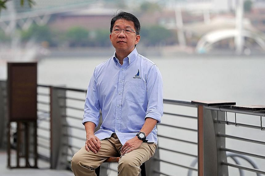 Lincoln Chee, who succeeded Ben Tan as SingaporeSailing president in June, wants the association to take the lead in encouraging greater participation in the sport.