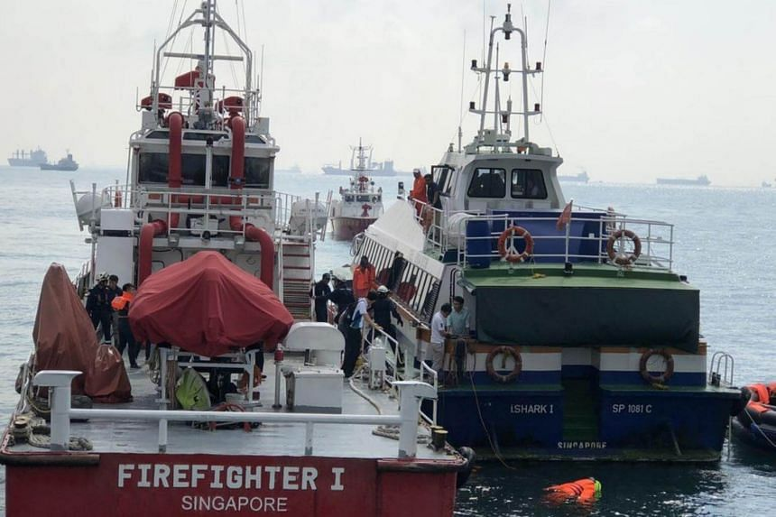 The Maritime and Port Authority of Singapore conducts annual ferry emergency exercises to test the readiness of various agencies in responding to ferry mishaps in the Port of Singapore.