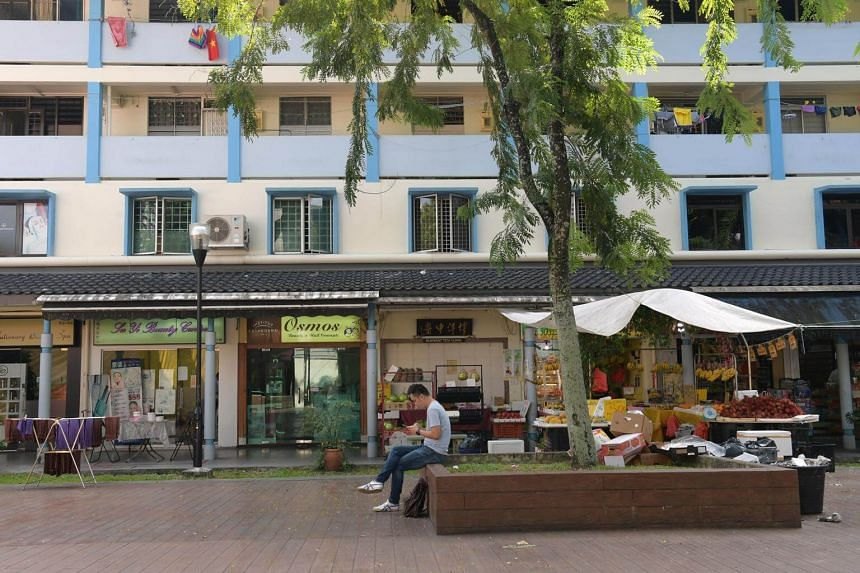 File photo of HDB shops in Toa Payoh.