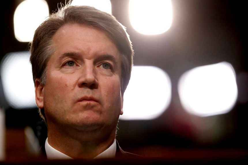 US Supreme Court nominee Brett Kavanaugh listens during his US Senate Judiciary Committee confirmation hearing on Capitol Hill in Washington, on Sept 4, 2018.