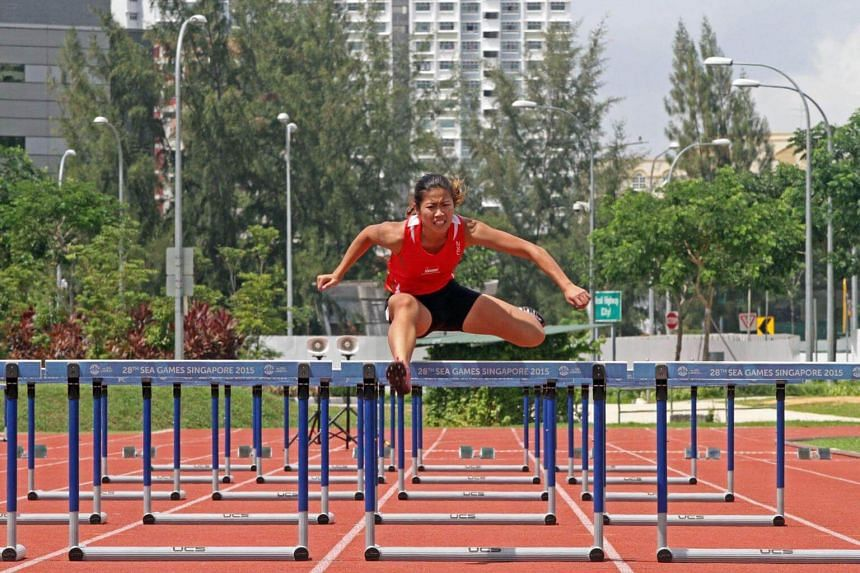 National hurdler Kerstin Ong said a coach allegedly harassed her with sexual jokes before progressing to comments about her body.