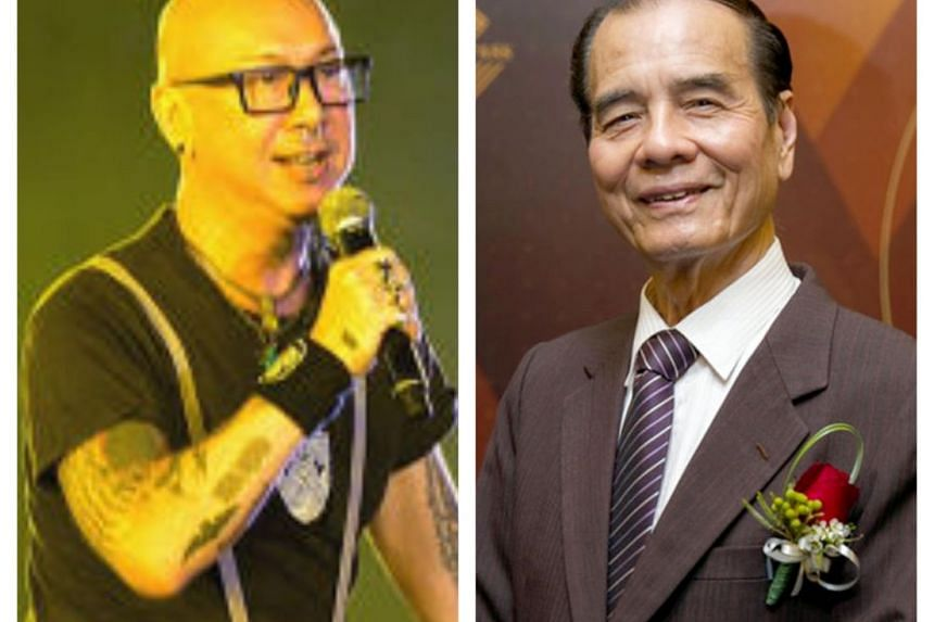 Compass handed out a Patron of music award to radio personality and singer Chris Ho (left) while the late Chang Kwai Ming won a posthumous Lifetime Achievement Award at the 23rd edition of the Compass awards.