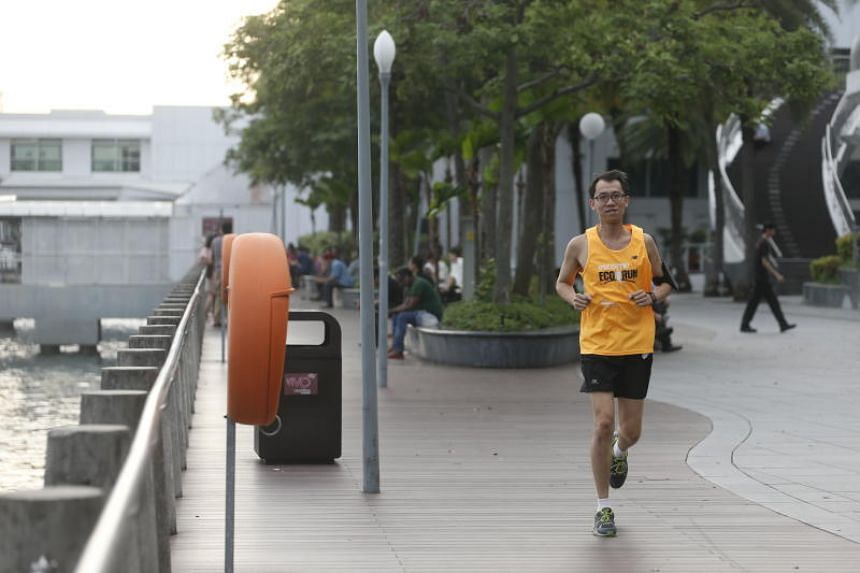 To Mr Mak Kwok Fai, who suffered a stroke 10 years ago, running is both a reminder of what he has overcome and an encouragement of what he can achieve.