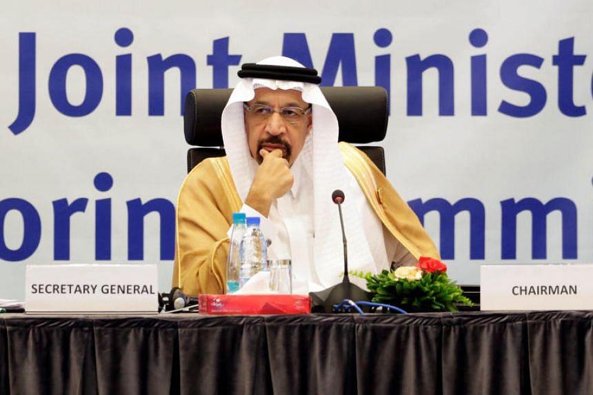 """I do not influence prices,"" said Saudi Energy Minister Khalid al-Falih."