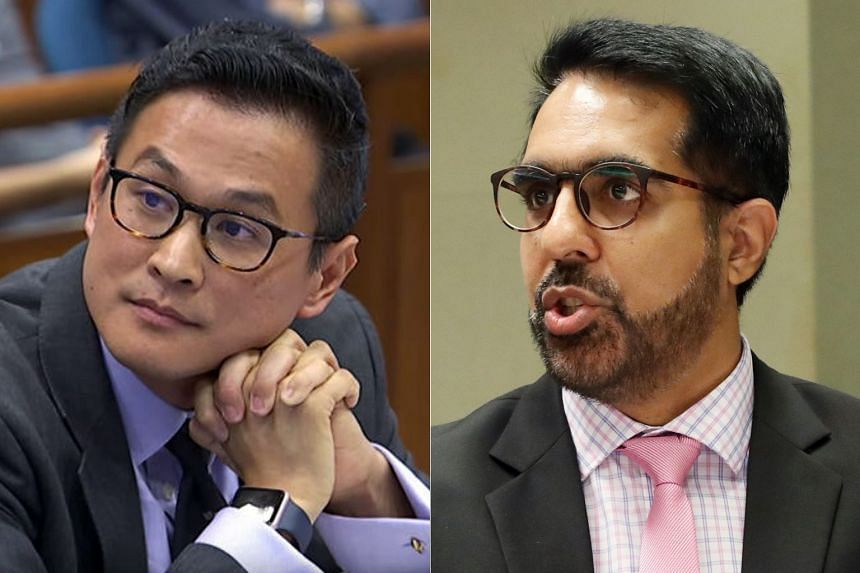Workers' Party chief Pritam Singh (right) said that historian Thum Ping Tjin (left) had also singled out the People's Action Party in his representation.
