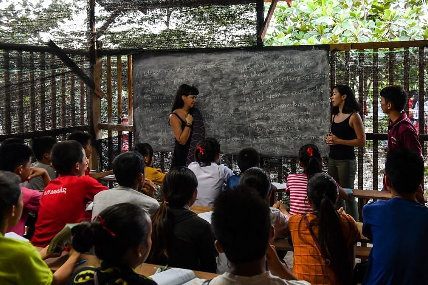 Field trips organised by JCU helps students to see how the theories they learn in the classrooms can be applied in real-life situations. PHOTO: NIKIL KOTTERI