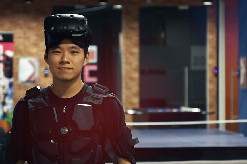"""Virtual Reality experience designer Roy Koo enjoys trying out cutting-edge gadgets and experimenting with new ideas to create experiences that can """"wow"""" people."""