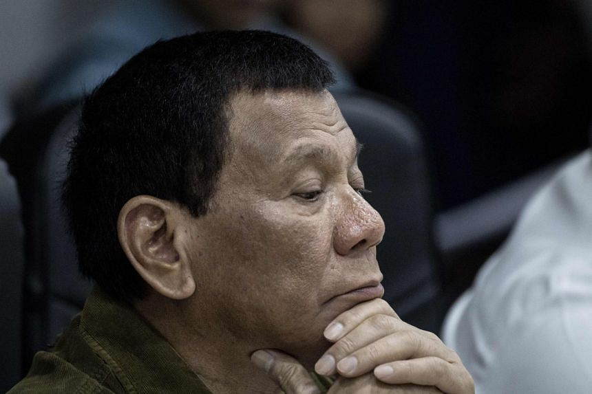 Philippine President Rodrigo Duterte's approval rating dropped 13 points to 75 per cent in a survey of 1,800 voting-age Filipinos conducted by Pulse Asia.