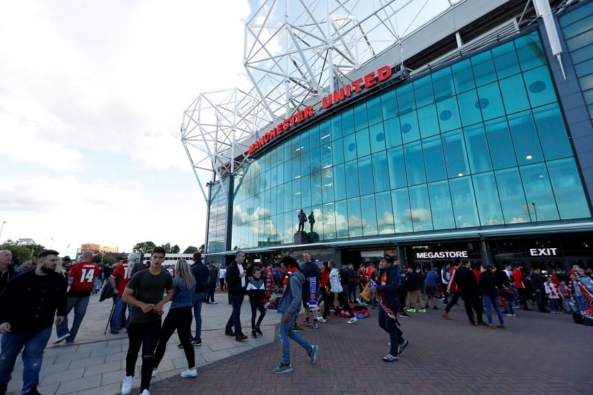 Manchester United said revenue is expected to be between £615 million (S$1.1 billion) and £630 million in the year to next June.