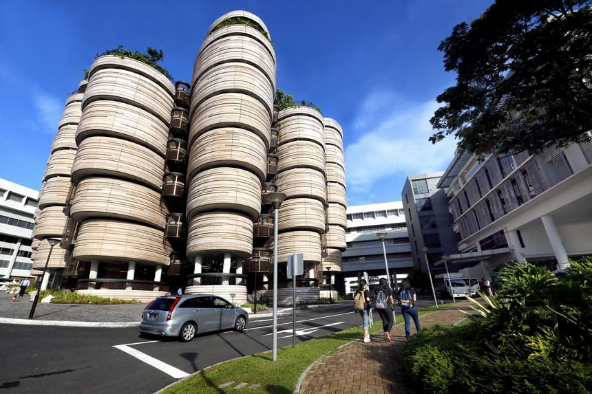 Nanyang Technological University's (NTU) learning hub. Under a new postdoctoral fellowship programme at NTU, promising postdoctoral candidates from Sweden can carry out their research at the university from 2019.