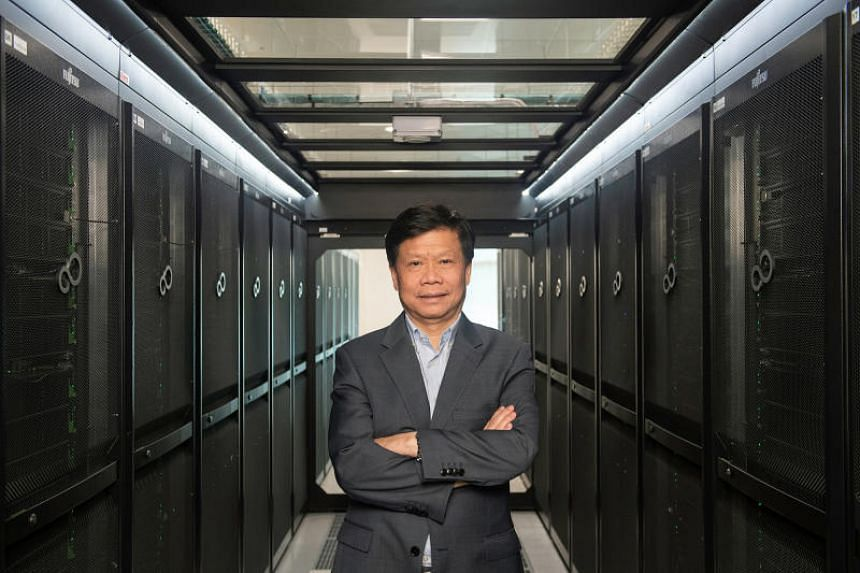 Professor Lam Khin Yong, vice-president of research at Nanyang Technological University, was one of the recipients of the President's Science and Technology Awards.