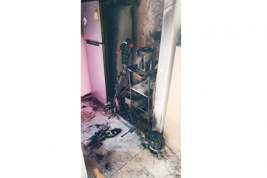 Preliminary investigation found that the cause of fire was electrical in nature, and had originated from the battery pack of a personal mobility device.