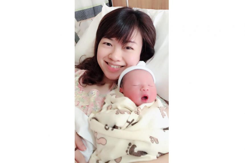 Ms Tin Pei Ling announced in a Facebook post that she gave birth to her second son on Sept 25, 2018.