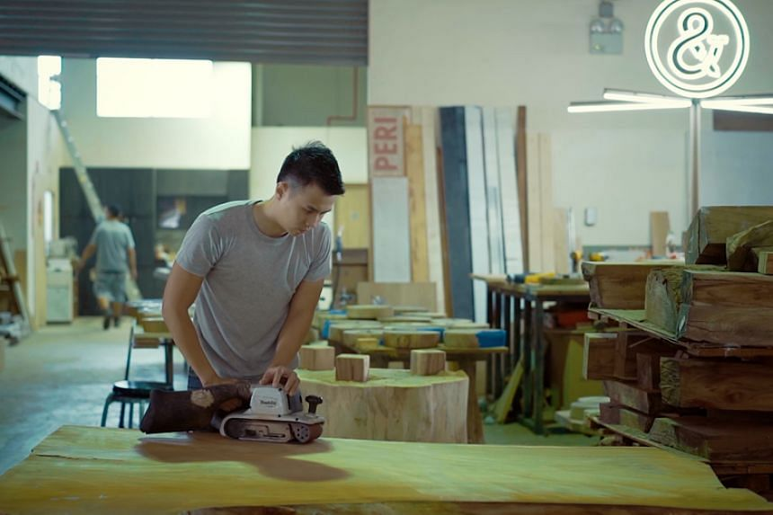 Mr Morgan Yeo helms bespoke woodworking company Roger&Sons, a name that pays homage to his late father.