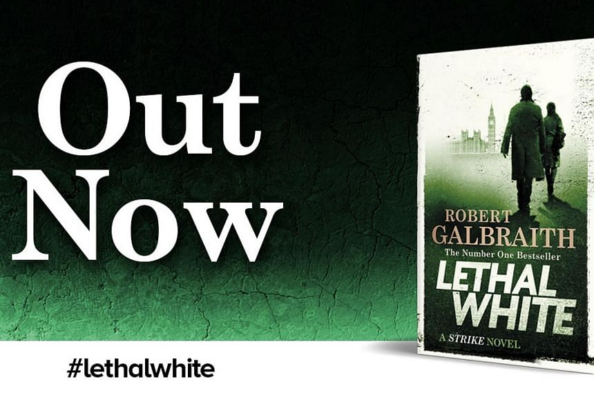 Lethal White, the fourth Cormoran Strike mystery, is a big, stuffed-to-the-brim, complicated bouillabaisse of a book.
