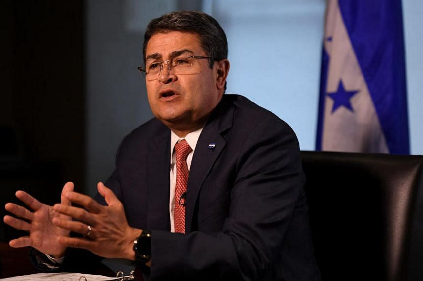 President Juan Orlando Hernandez expressed regret that prior US commitments to step up investment in Honduras had been scaled back.