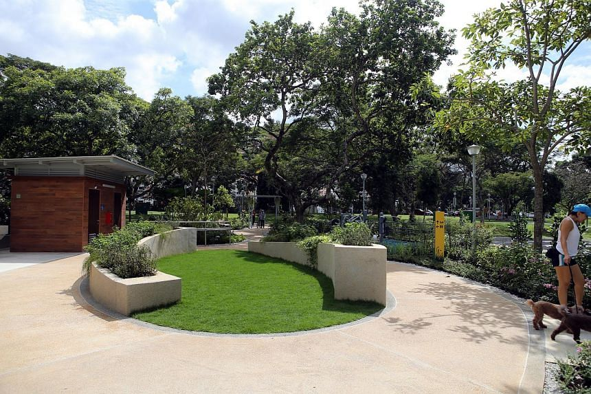 File photo of a therapeutic garden in Bishan-Ang Mo Kio Park.
