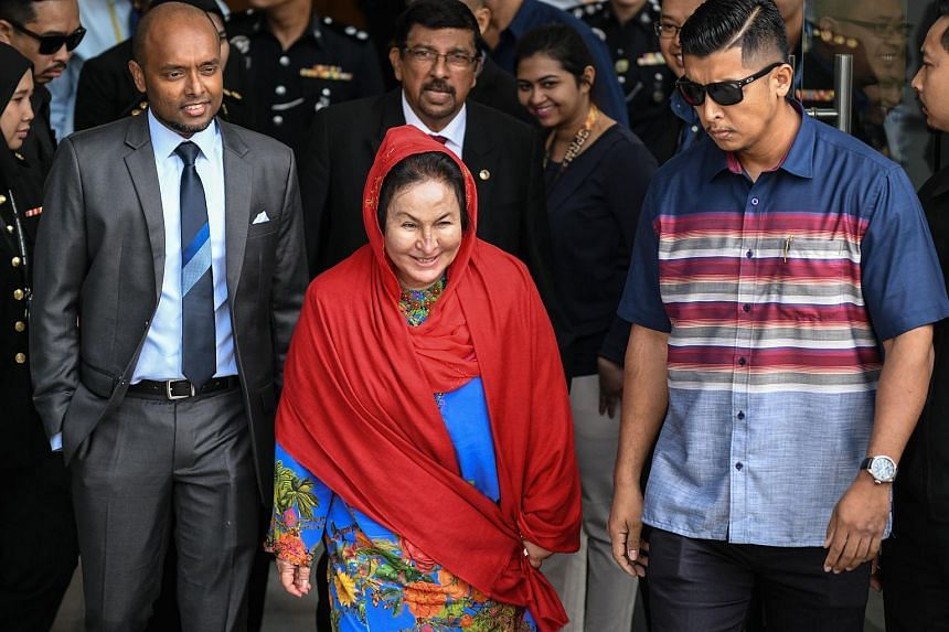 In June, Datin Seri Rosmah Mansor was summoned to give her statements to the Malaysian Anti-Corruption Commission at the agency's headquarters in Putrajaya.