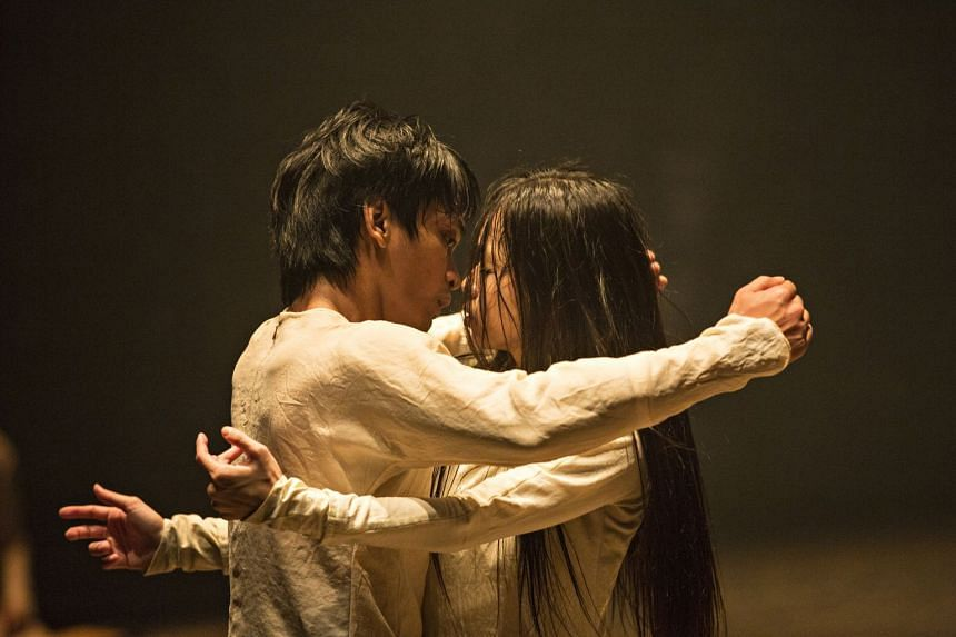 Rianto (left) and Chien Ching-Ying in Until The Lions by British choreographer Akram Khan.