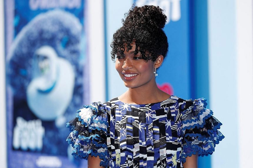 Sitcom Black-ish star Yara Shahidi (above), 18, has been talked up as a future president of the United States by show-business icon Oprah Winfrey. Talk-show host Ellen DeGeneres has praised the teenager for encouraging her peers to vote, with her org