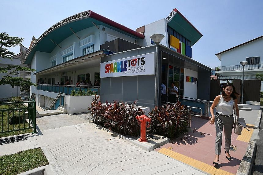 The newly opened PCF Sparkletots @ Bishan North Block 409 offers full-day childcare and infant care for up to 151 children.