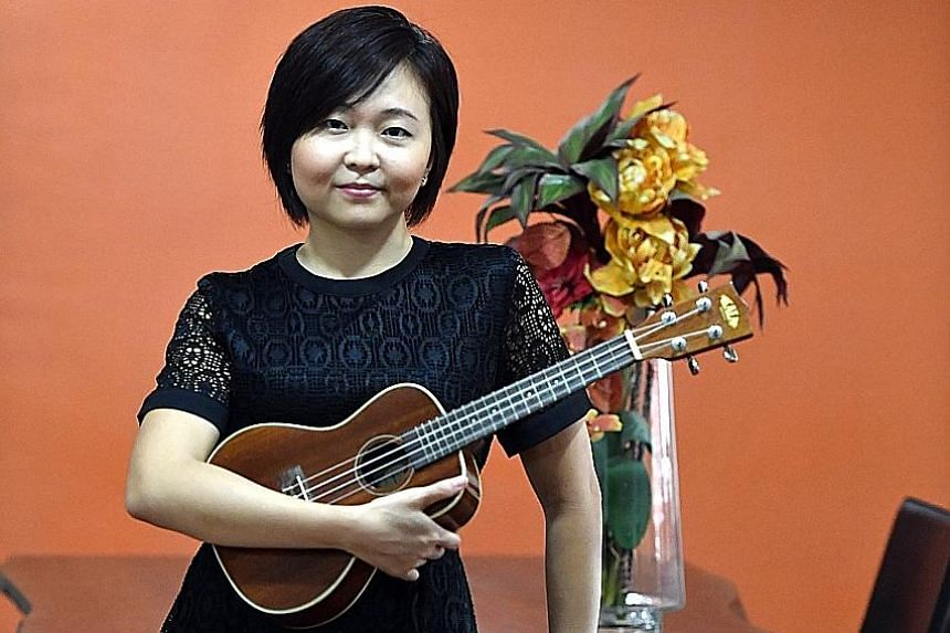 Ms Crystal Goh suffers from a rare neurological disorder called spasmodic dysphonia that sends muscles in her voice box into spasms.