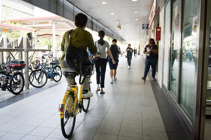 Chinese firms ofo and Mobike said they would work with the LTA to implement the measures aimed at curbing indiscriminate parking.